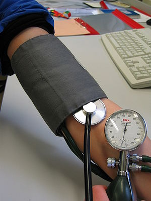 Can a neck injury cause high blood pressure in Renton Washington?